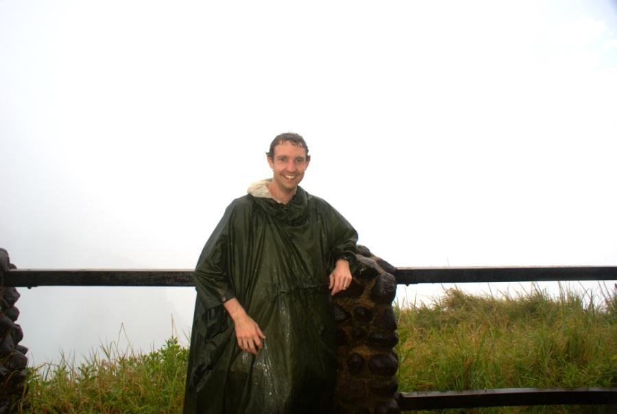 Me at Victoria Falls