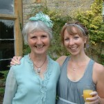 Mark's Mum and sister Lizzi
