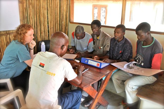 Translators working