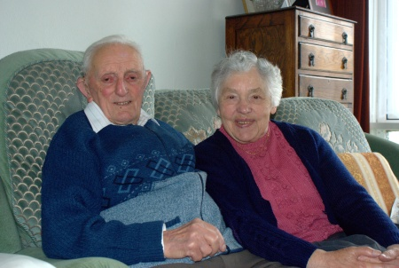 My Gran and Grandad, in Burnham on Sea