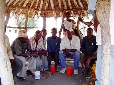 Ikoma villagers