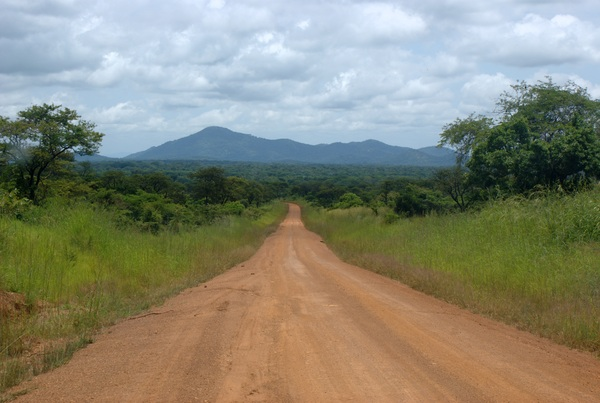 Driving down towards Katavi National Park