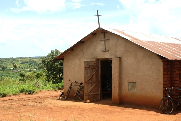 The Lutheran church in Mwese