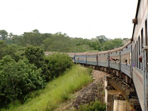Train from Mbeya to Dar es Salaam