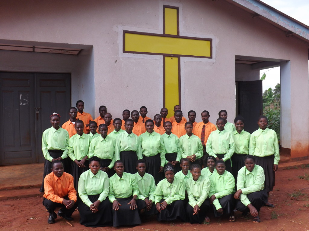 The Bende choir recorded in the village of Mwese