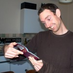 Mark's visa finally arrives