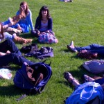 Picnic in London with the youth group girls